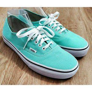 Vans Womens Authentic Mint Sneakers Size 10